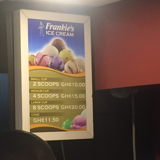 Frankies Ice Cream Prices