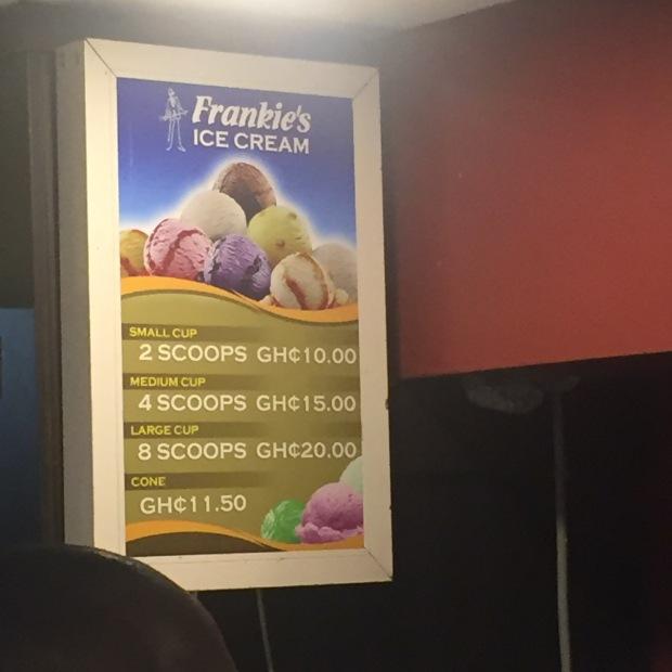 Frankies Ice Cream Prices