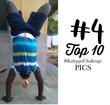Kalyppo Challenge -  Drinking Kalyppo via Handstandd