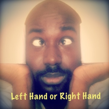 Should I use my left or right to wipe?