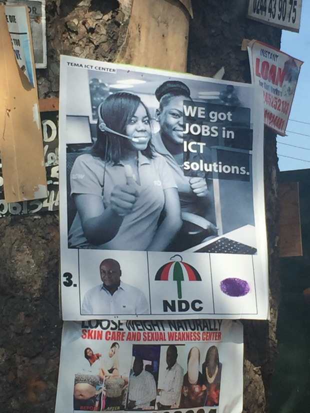 An NDC advert at 37
