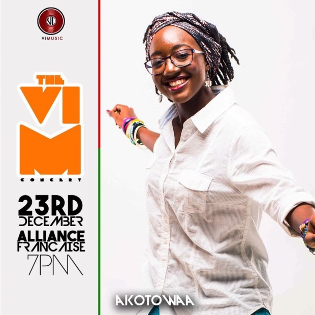 Akotowaa performs at the VIM Concert