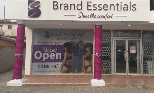 Brand Essentials Store Front