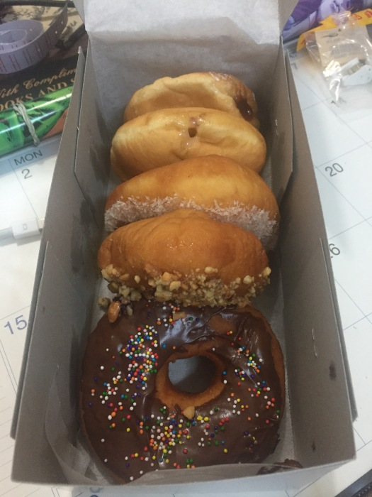 My doughnut order from the other day