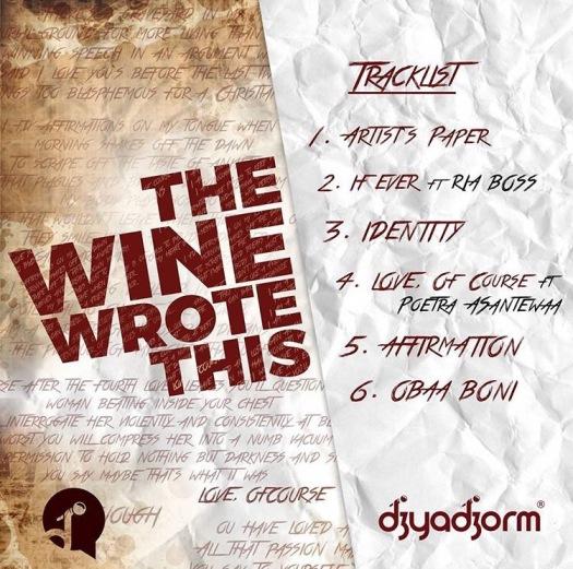 #TWWT track list