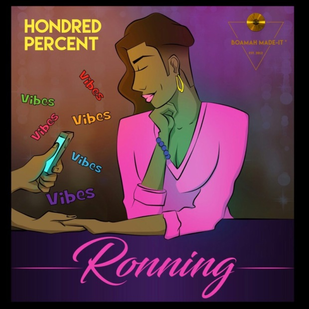 Official Cover Art for Ronning Single